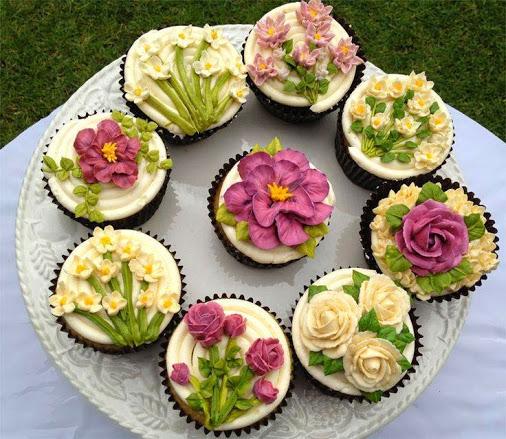 Spring cupcakes</p><br class=