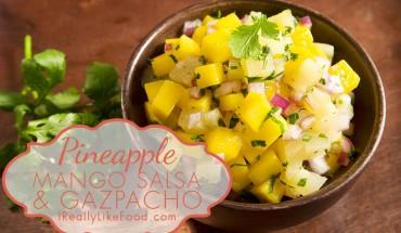 pineapple mango gazpacho recipe