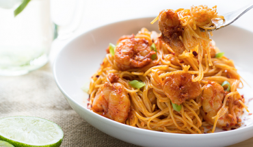 skinny mom bang bang shrimp pasta recipe