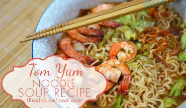 Tom Yum Noodle Soup Recipe